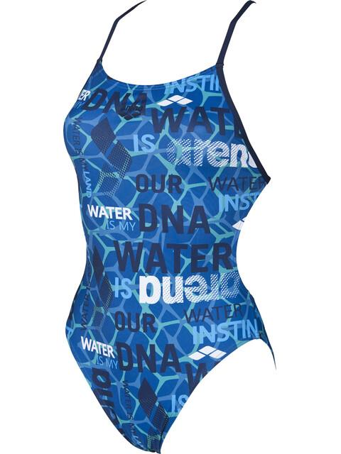 arena Evolution Booster Back - Bañador Mujer - azul